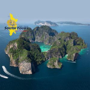 Phi Phi Lay Aerial view