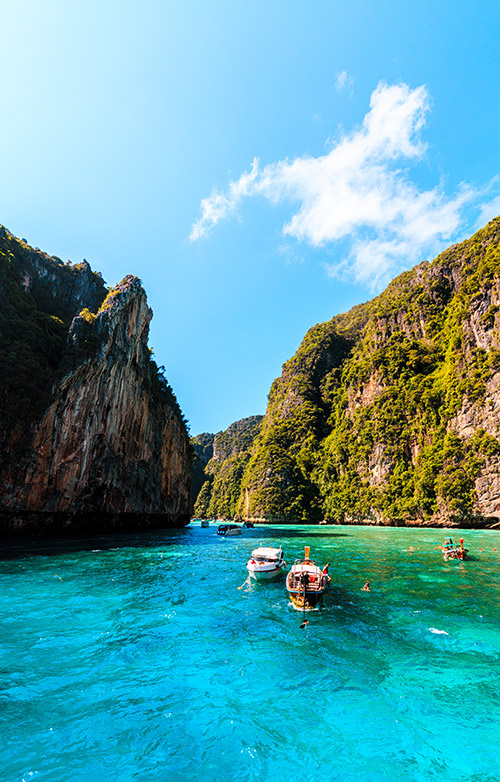 Loh Samah Bay - Phi Phi Islands