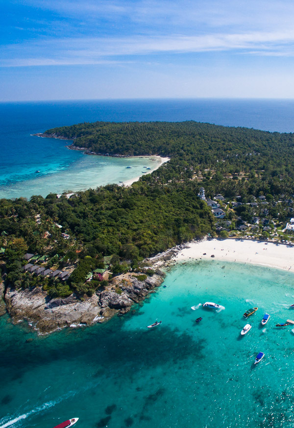 Raya Island from above