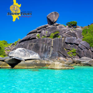 Similan Island famous rock