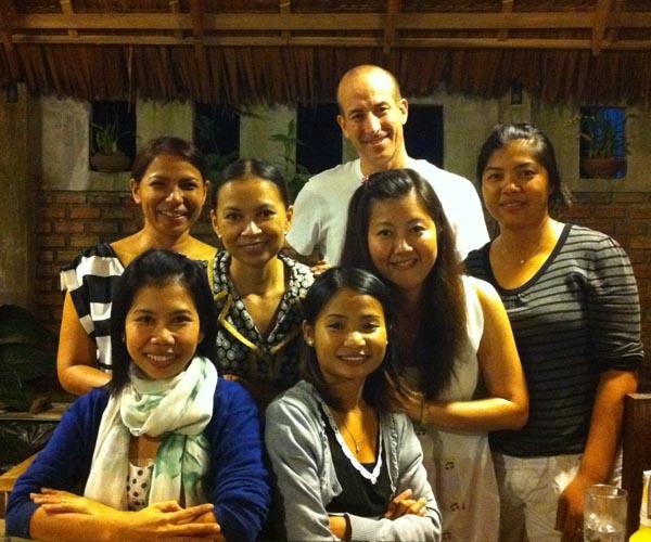 South Tours family Christmas Party in Takuapa - Phang Nga