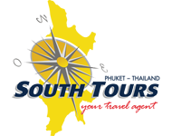 South Tours travel agency in Patong Beach Phuket Thailand