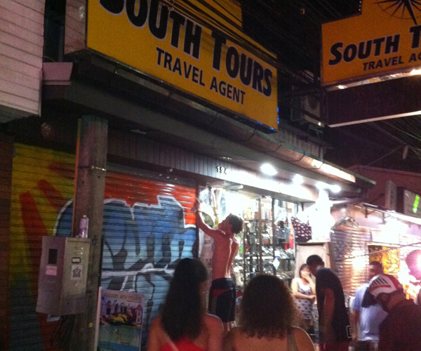 South Tours Artistic makeover Patong Beach