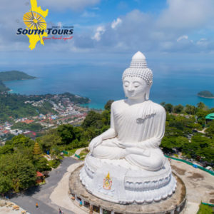Phuket City Tour including big Buddha with South Tours