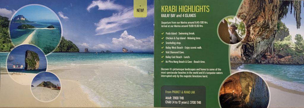 Krabi day trip by speedboat