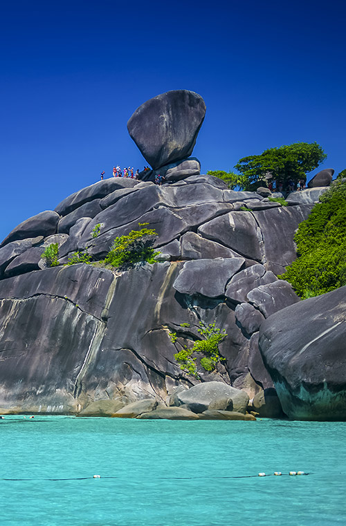 Similan Island famous view